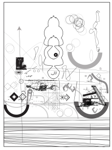Sketch of consciousness machine