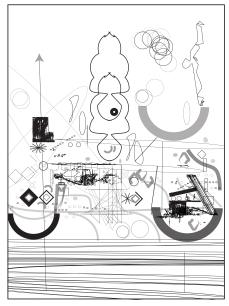 Sketch of consciousness machine